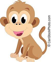 baby abe, illustration
