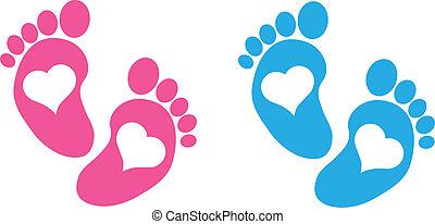 baby føder