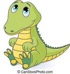 baby krokodille