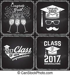 badge., 2017, vektor, klasse
