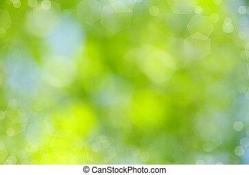 baggrund, grønne