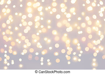 baggrund, lys christmas, ferier