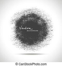 baggrund., vektor, grunge