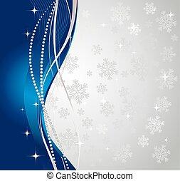 baggrund., vinter, sølv, abstrakt