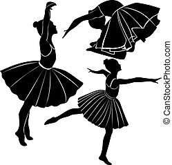 balletdanseren, pige