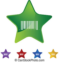 barcode, ikon