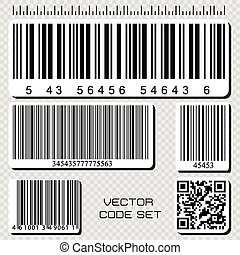 barcode, sæt