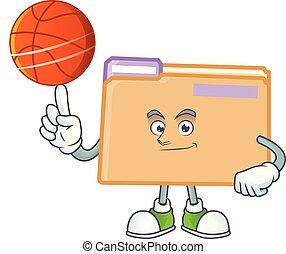 basketball, sparepenge, brochuren, dokument, fil