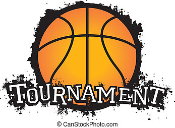 basketball, turnering, vektor