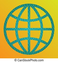 begreb, world., digitale