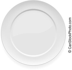 beklæde, hvid, middag, blank