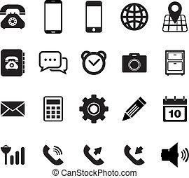bevægelig telefoner., ikon