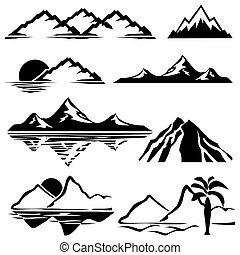 bjerge, iconerne