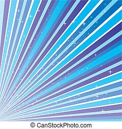 blå, 10.0, strimler, abstrakt, eps, illustration, stjerner, vektor, baggrund