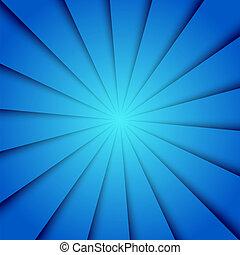 blå, baggrund., vektor, eps10