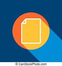 blå, illustration., uendelig, tangelo, vertikal, lys, køle, produced., cirkel, gul underskriv, baggrund., klar, selektiv, sort, vector., banearbejderen, hvid, dokument, skygge, ikon