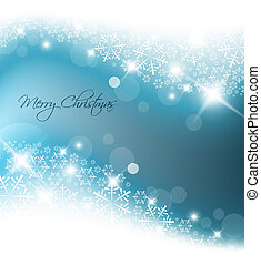 blå lyse, abstrakt, jul, baggrund