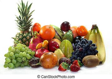blande, frugt