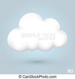 blanke, sky, ikon