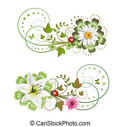 blomster, ordning