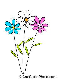 blomster, tre