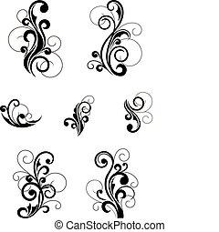 blomstrede mønstre