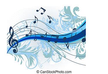 blomstrede, musik