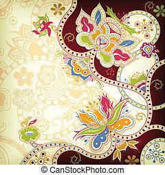 blomstrede, orientalsk