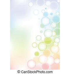boble, baggrund