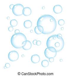 bobler, sæbe