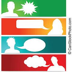 bobler, tale, avatars, folk