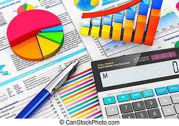 bogholderi, begreb, finans, firma