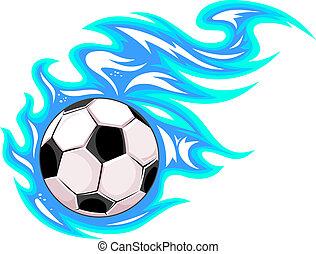 bold, fodbold soccer, eller, mesterskab