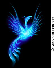 brændende, phoenix