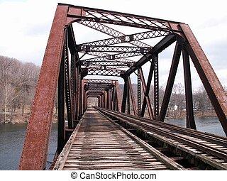 bro, jernbane