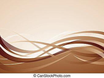 brun, vektor, baggrund