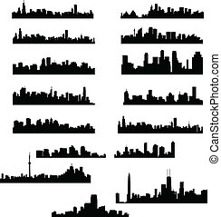 byen, skylines