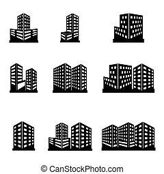 bygninger, iconerne