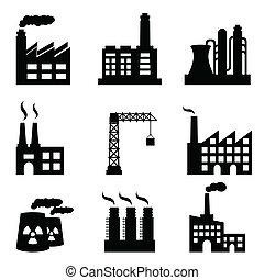 bygninger, industriel