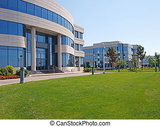 bygninger, kontor