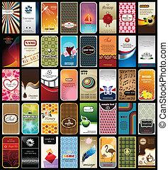 cards, 40, firma, samling
