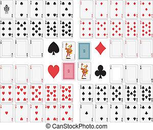 cards, spille
