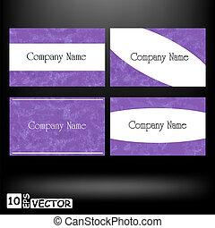 cards, vektor, firma