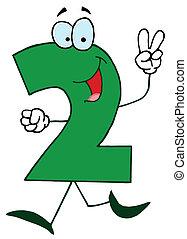 cartoon, numbers-2