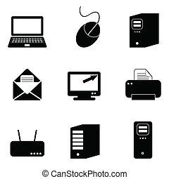 computer teknologi, iconerne