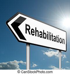 concept., rehabilitering