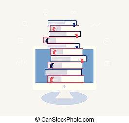 concept., undervisning, konstruktion, e-learning, online