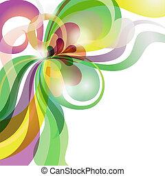 constitutions, festlige, abstrakt, tema, baggrund, colourful