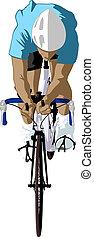 cyklist, forside udsigt