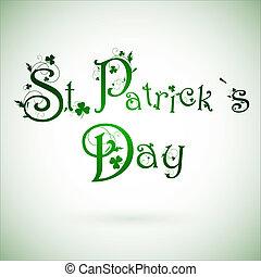 dag, st.patrick, hils